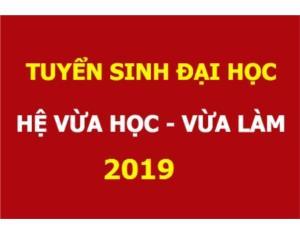 Thông báo tuyển sinh hệ VLVH chất lượng cao 2019
