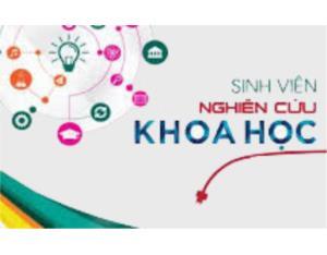 Đề tài NCKH SV năm 2019,2020