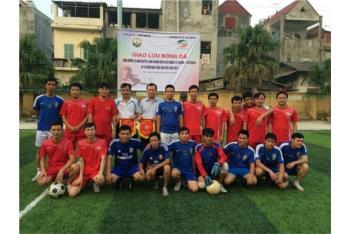 Giao hữu Bóng đá giữa Viettel Thái Nguyên và Khoa Điện tử