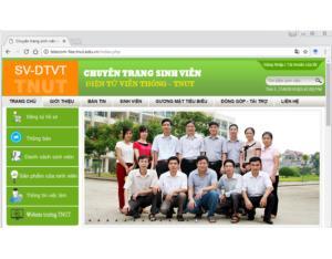 Chuyên trang sinh viên ngành Điện tử Viễn thông - TNUT