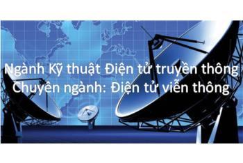 Chương trình đào tạo ngành Kỹ thuật điện tử truyền thông - Chuyên ngành Điện tử viễn thông